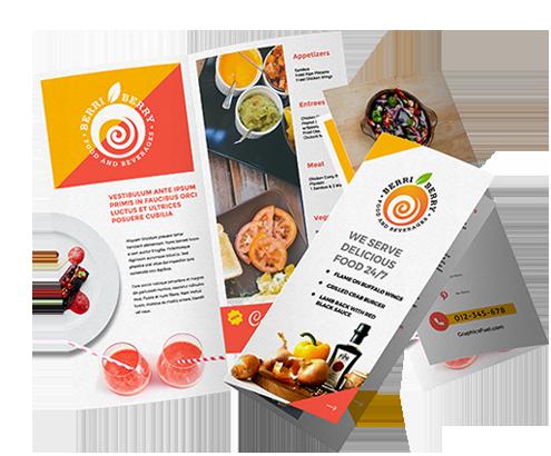 custom profesisonal brochure designs logo design guru