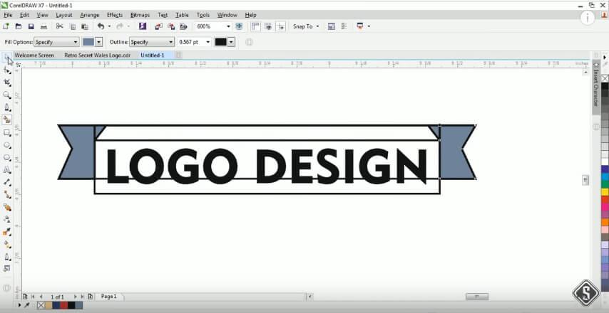How to Design a Modern Logo: Adobe Illustrator Vs  Corel Draw