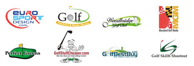 Creative Golf Logo Golf Course Logos Shapes And