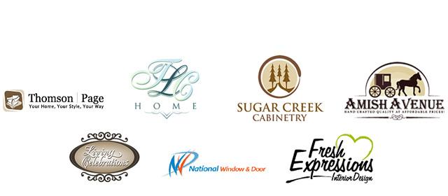 Interior Logos : Design By LogoDesignGuru.